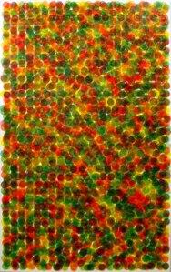 Truputis colorfield tapybos